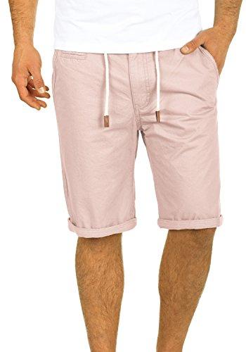 Blend Kaito Herren Chino Shorts Bermuda Kurze Hose Mit Kordel Aus 100% Baumwolle Regular Fit, Größe:XL, Farbe:Cameo Rose (73835)