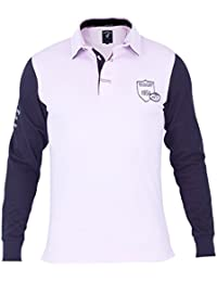 Shilton Polo Rugby Nations - Couleur - Écru, Taille - 4XL