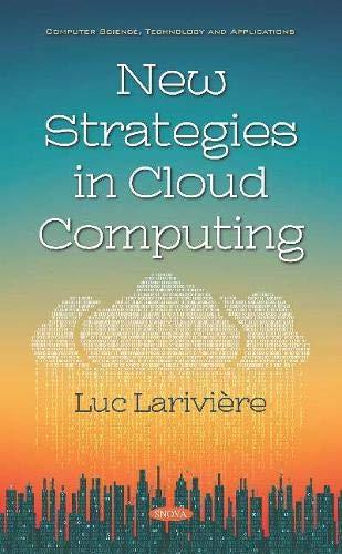 New Strategies in Cloud Computing