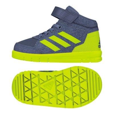 adidas Baby Jungen AltaSport Mid EL I Sneaker Blau Rawste/Sesoye/Ftwwht, 22 EU