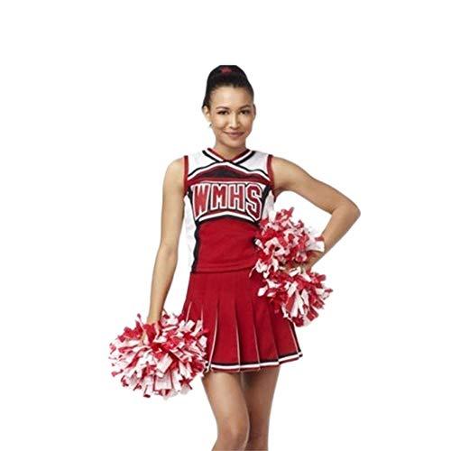 MCO%SISTSR Cheerleader-Kostüm,Musik,Die Einheitliche Baseballmädchen des Baseball-Football-Gymnasiums ()