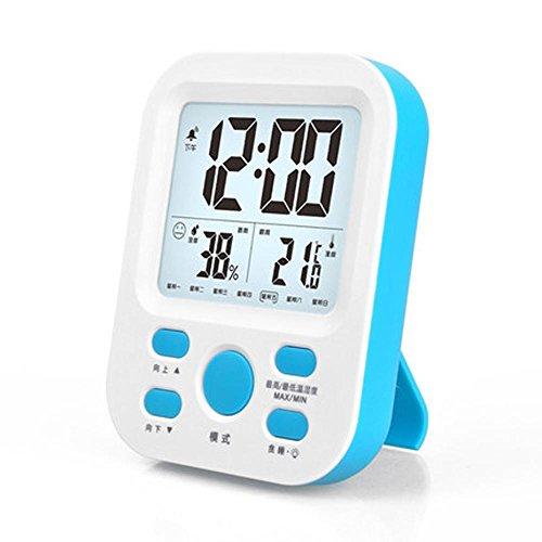 NSHK Temperatura digital Medidor humedad Hogar Termómetro