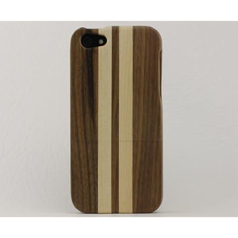 Avadoo © iPhone 5 y 5 S cerezas/madera de arce natural carcasa case-