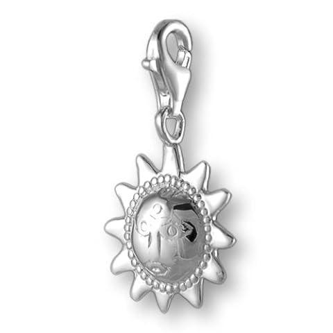 Melina Damen-Charm Anhänger indische Sonne 925 Sterling Silber 1800055