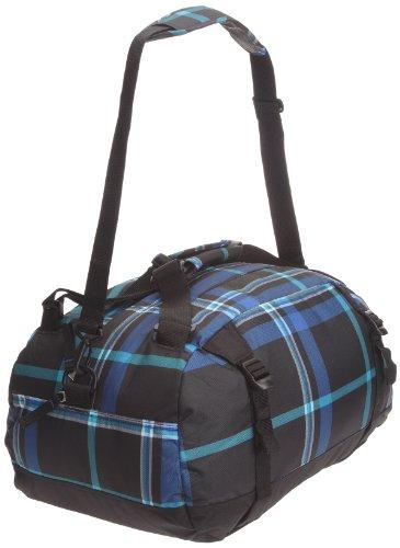 JanSport Sporttasche, black/blue streak perry plaid, 50x30x26 cm, 40 Liter black/blue streak perry plaid