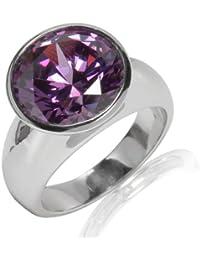 Rafaela Donata Ring Sterling Silber Zirkonia lila