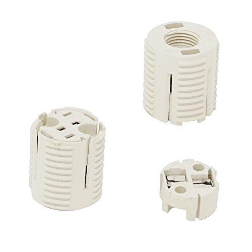 12v Bi-pin Glühlampe (Fassung Für Niedervolt-Halogen-Glühlampen 2 Stück G4/GU4/GZ4/GX5.3/GY6.35 >> Kombifassung SET >> NEU)