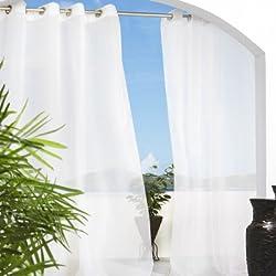 Outdoor Cote d'azure Sheer Window Panels