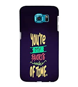 Ebby Premium 3d Desinger Printed Back Case Cover For Samsung S6 Edge Plus (Premium Desinger Case)