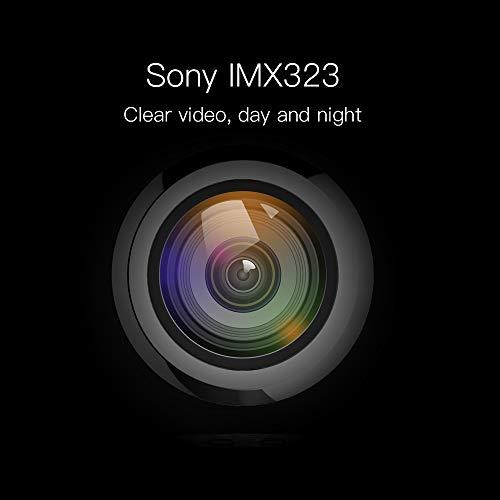 41HnbkN3k9L - Cámara de salpicadero para Coche con WiFi y Soporte Giratorio de 360° magnético con Sensor G de 360° para grabación en Bucle de Aparcamiento y Tarjeta de Apoyo de 128 G máx.