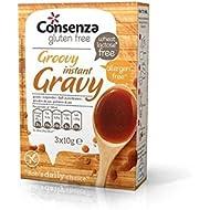Cosenza Gluten Instantánea 30G Salsa Sin - Paquete de 4