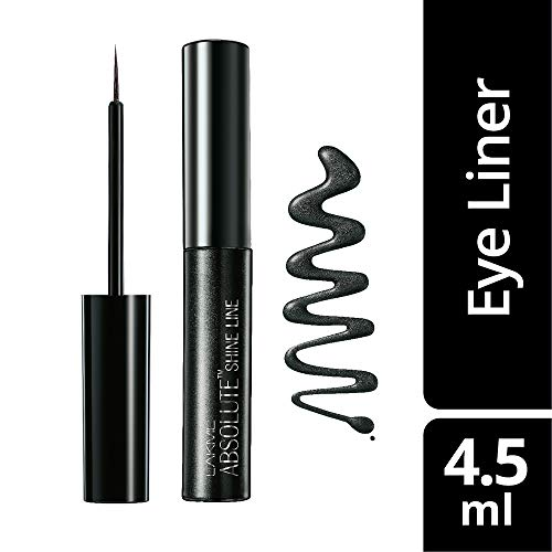 Lakme Absolute Shine Liquid Eye Liner, Black, 4.5ml