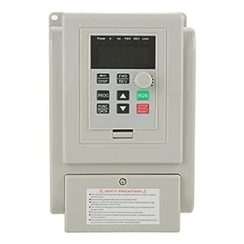 Schulzeit Ac 220v 1 5kw Frequenzumrichter Vfd Geschwindigkeitsregler Wechselrichter Für Drehstrommotor Gewerbe Industrie Wissenschaft