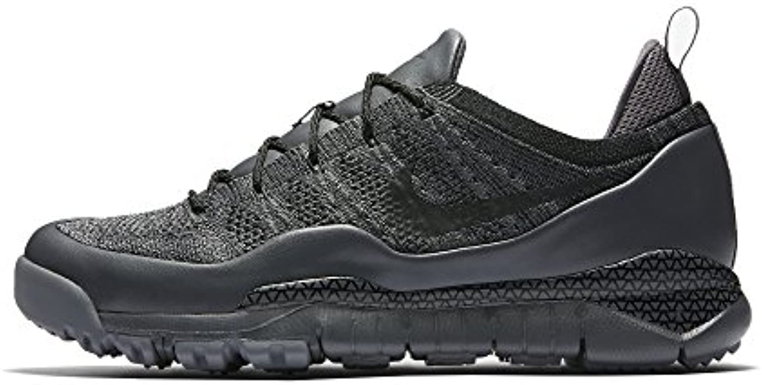 NIKE LUPINEK FLYKNIT LOW mens fashion sneakers 882685 001_11   DARK GREY/BLACK COOL GREY