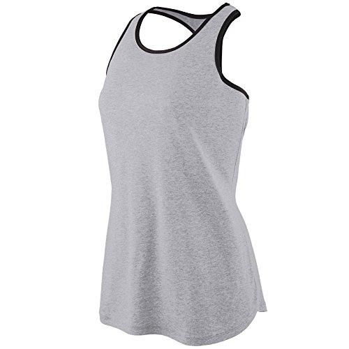 Augusta Sportswear Women'S Rave Henley S Athletic Heather/Orange Augusta Sportswear Henley