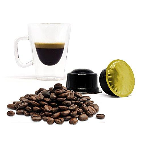 ORO DI NAPOLI Lovespresso - 50 Capsule di caffè in capsule Compatibili CAFFITALY® - INTENSITA' 10