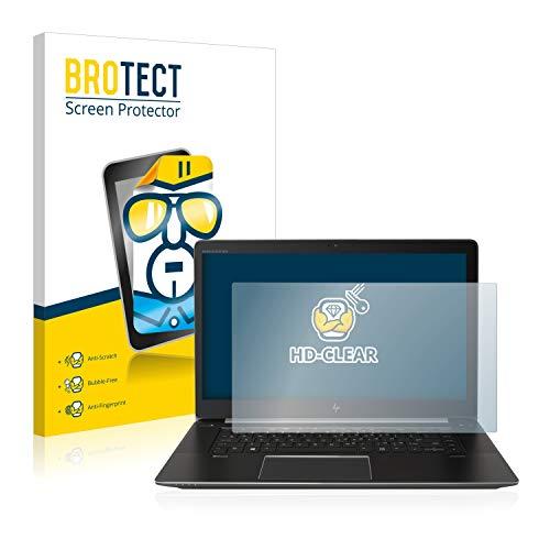 BROTECT Schutzfolie kompatibel mit HP ZBook Studio G4 klare Bildschirmschutz-Folie