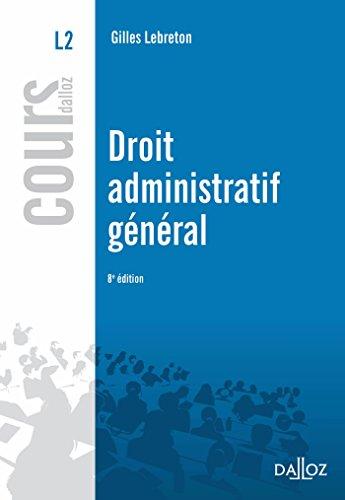 Droit administratif général - 8e éd.