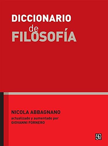 Diccionario de Filosofia por Nicola Abbagnano