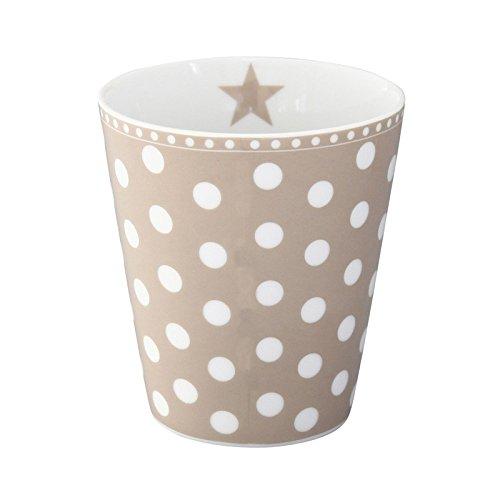 Krasilnikoff Mug Dots New Taupe