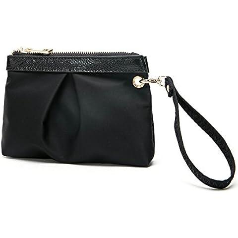 Pochette/:Borse a mano donna/Mini Oxford panno impermeabile Nylon canvas borsa cellulare/Frizione/ piccola