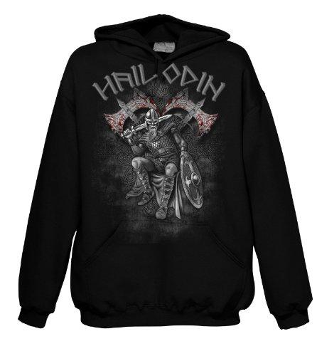 Fantasy Hail Viking Odin Warrior 701712 uomo con cappuccio