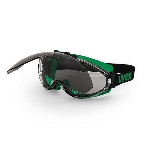 Uvex Ultrasonic Schweißerbrille mit hochklappbarem Visier, Farbton 5