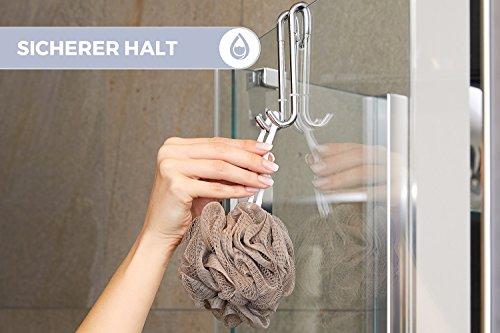 Ganci doccia bamodi per box doccia e vasca da bagno gancio