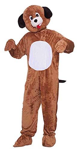 Forum Neuheiten 214473 Mr. Puppy Pl-sch Kost-m - Braun - One-Size (Adult Puppy Kostüm)