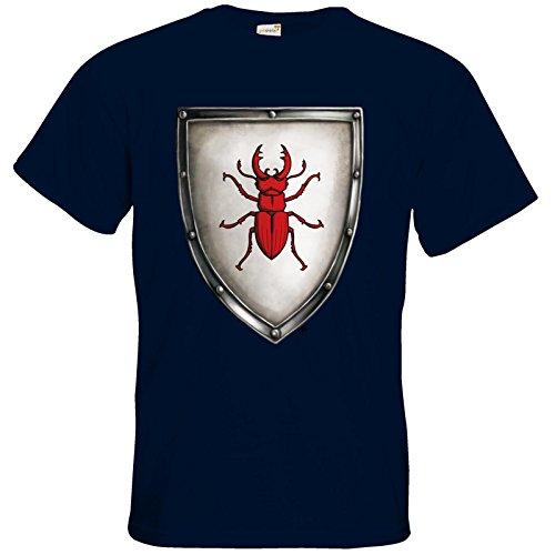 getshirts - Das Schwarze Auge - T-Shirt - Die streitenden Königreiche - Wappen Joborn Navy