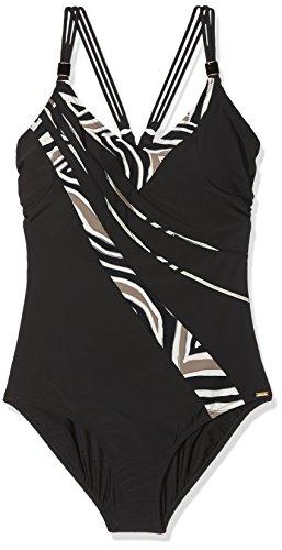 Triumph Damen Badeanzug Palm Elegance OP, Mehrfarbig (Black Combination K9), 42