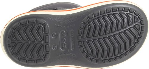 Crocs Crocband Gust Boot Kids, Boots mixte enfant Gris (Graphite/Light Grey)