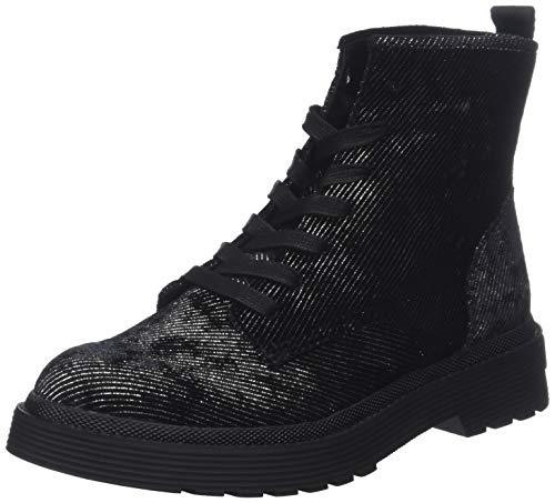 Calvin Klein Jeans Damen Annie Metal CORDOUROY Stiefeletten, Schwarz (Black 000), 39 EU Damen-black Metal