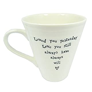 East of India Remember You Are Braver Than You Believe Porcelain Mug
