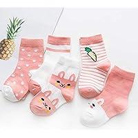 Wzbb Calcetines Calcetines De Los Niños Otoño Invierno De Algodón De Los Hombres Recién Nacidos Calcetines De Algodón De Primavera Tubo De Dibujos Animados Bebé Niña Calcetines