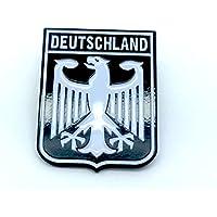 Deutschland escudo de armas imperial Eagle negro bandera de Alemania Metal Pin badge
