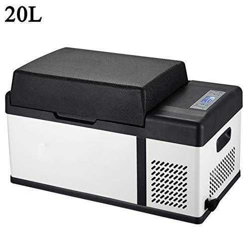 Nevera Portatil 12V Compresor 24V/220-240V Nevera Electrica para Coche (15L/20L/25L/30L/40L/50L/75L) Mini Refrigerador Refrigerador del Coche Ideal para Coche Hogar Y Aire Libre,20L