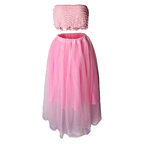 Sharplace Damen Umstandskleid Mutterschaft Fotografie Kleid Schwangerschafts Rock Sexy Fotoshooting Kostüm