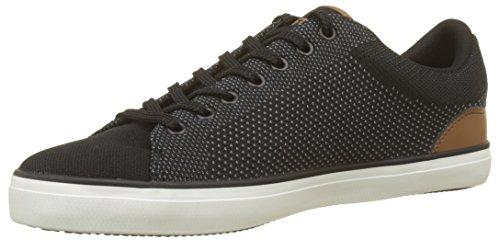 Lacoste Herren Lerond 318 1 Cam Blk/tan Sneaker, Schwarz 315, 43 EU