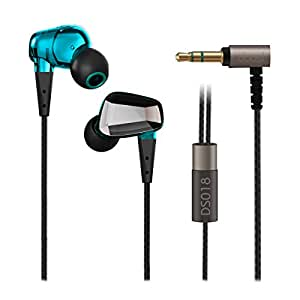 Ear Kopfhörer, Doosl® Kopfhörer 3,5 mm-Stecker Sport Kopfhörer In-Ear-Hifi Musik Kopfhörer