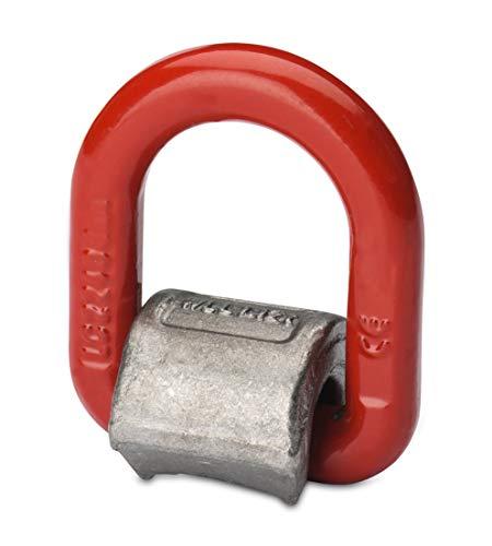 Anschlagpunkt zum Anschweißen Ringbock Transportöse Anschweißöse Güteklasse 8 - Größe wählbar - (3150 kg)