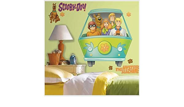SCOOBY DOO Mystery Machine Giant 34\' Wall Stickers Gang Van Room ...