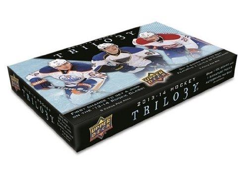2013/14 Upper Deck Trilogy Hockey Hobby Box NHL
