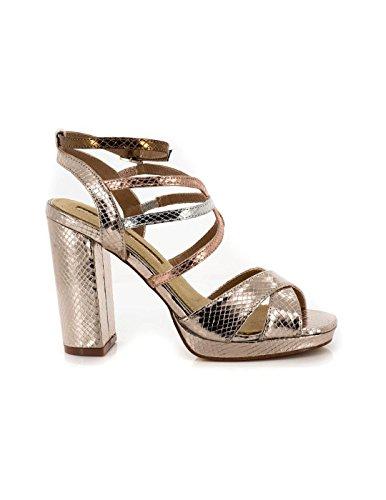 MARIA MARE Donna Elettra Sandali con cinturino alla caviglia oro Size: 39 EU