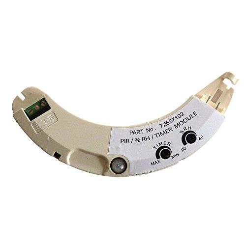 Airflow iCON PRHTM Zusatzmodul, Bewegungssensor-/Feuchtigkeitsregler- und Timermodul für 240-V-Ventilator