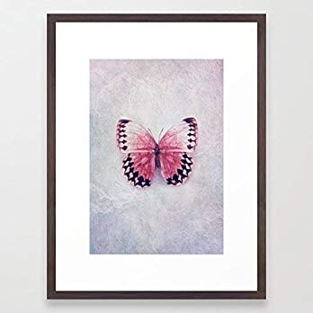 Design Foto Kunstdruck Butterfly Schmetterling Kinderzimmer Bild