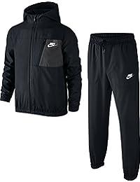Nike B Nsw Trk Suit Winger W Chándal, Niños, Negro (Black/Black/Anthracite/White), S
