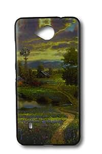 BlueArmor Sparkle Back Soft Cover Case for Nokia Microsoft Lumia 650 Design 36