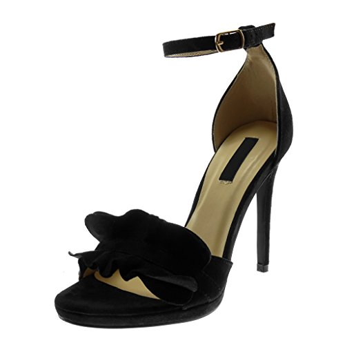 Scarpe DA DONNA PUMPS WOW zeppa 0152 NERO 38