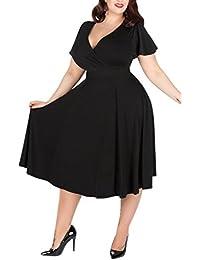 Amazon.it  plus size - Vestiti   Donna  Abbigliamento a9e8d9441ea